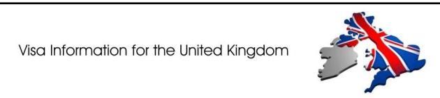 VISA information for Student VISA UK