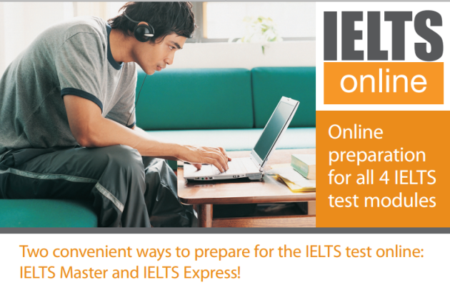 online preparation for all 4 ielts test modules