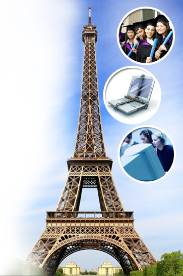 Study, internship, work permit in France